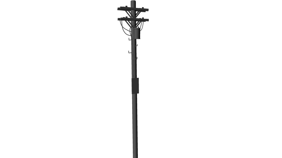 Pole vector electric. Collection of clipart