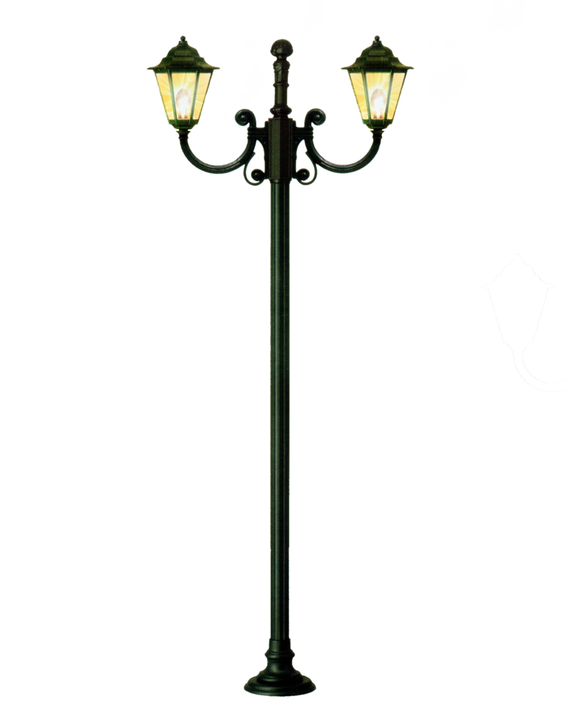 Pole vector street light. Silhouette at getdrawings com