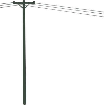 Pole vector utility. Collection of free electrification
