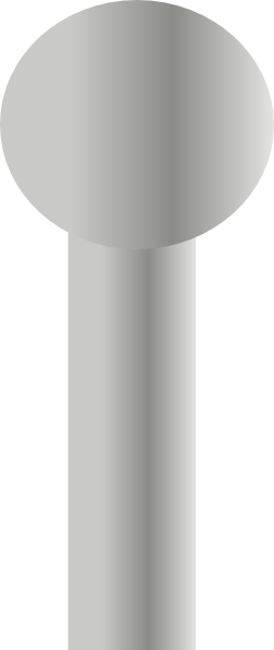 Pole vector. Steel map clip art vector black and white stock
