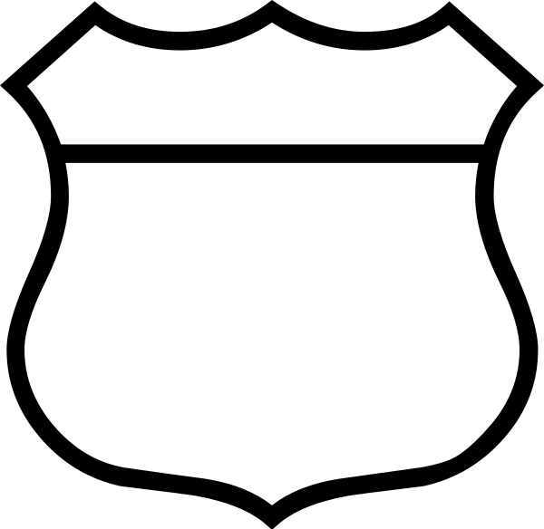 Police badge drawing at. Blank family crest png clip freeuse library