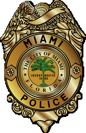 Police badge logo png. File of the miami
