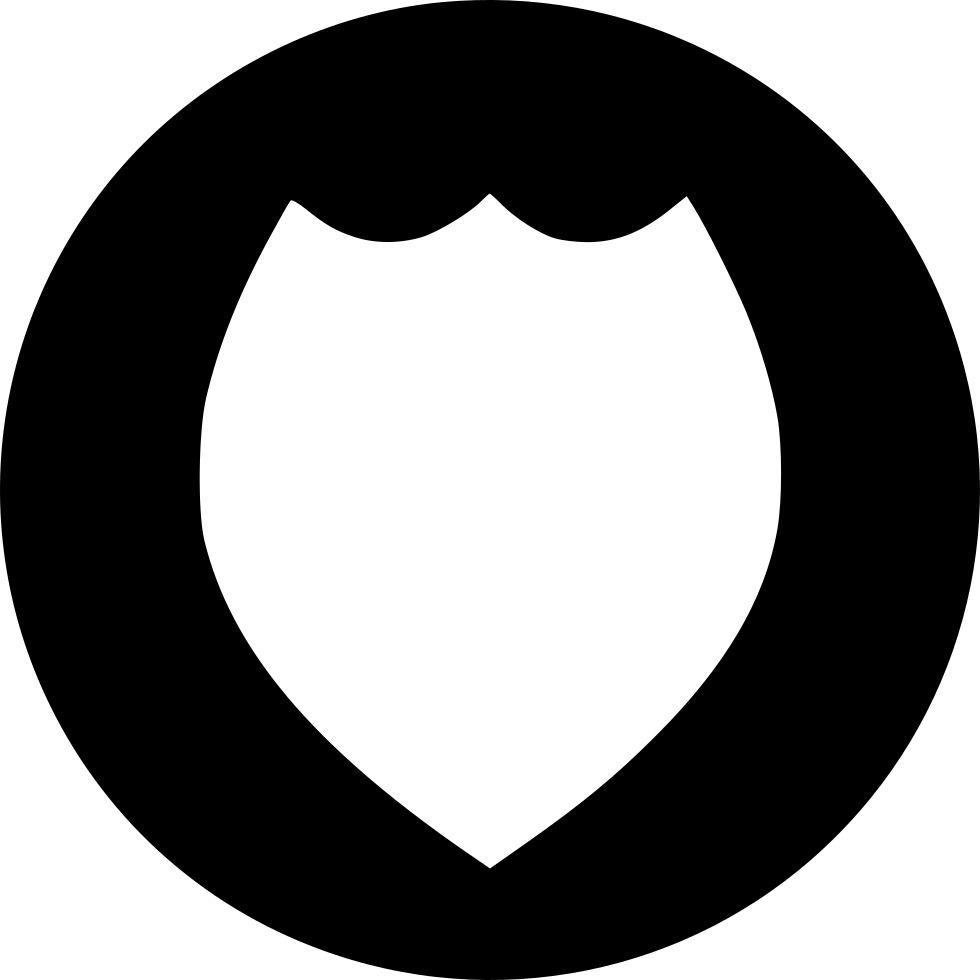 Police badge outline png. Ii svg icon free