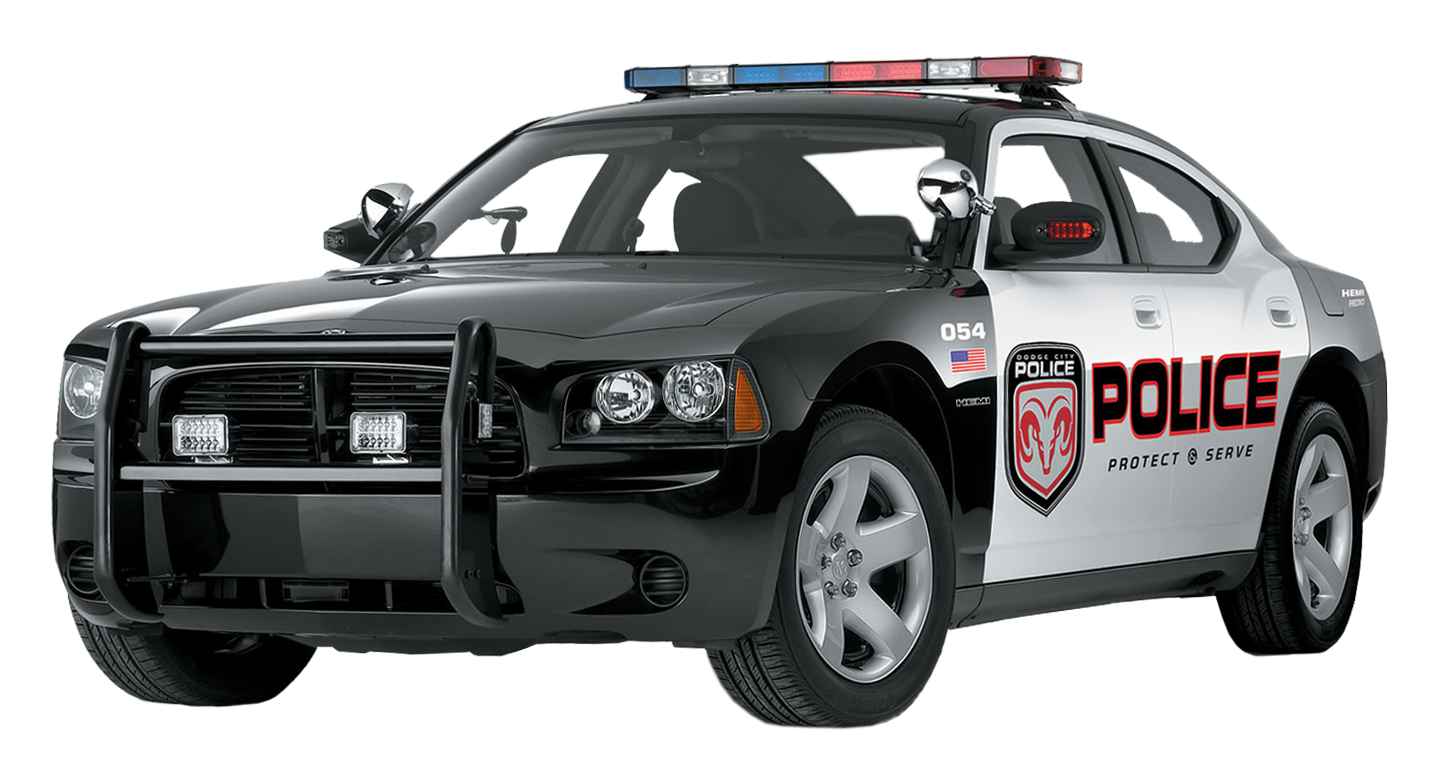 cop car lights png