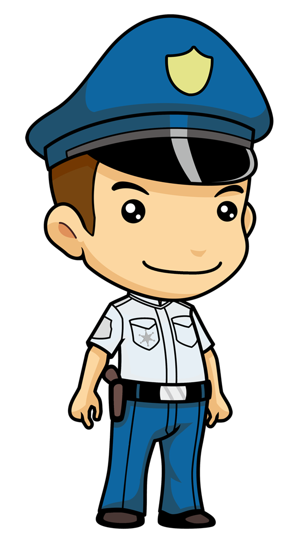 Boy clipart police officer. Free cute cliparts download