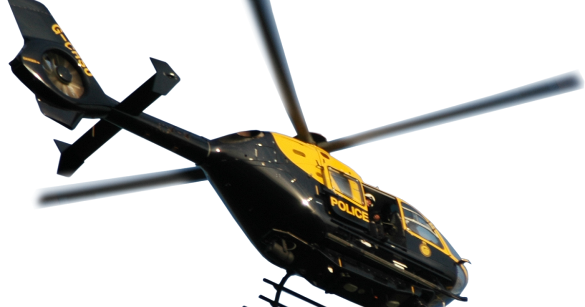 Police helicopter png. Thames valley bedfordshire aviation