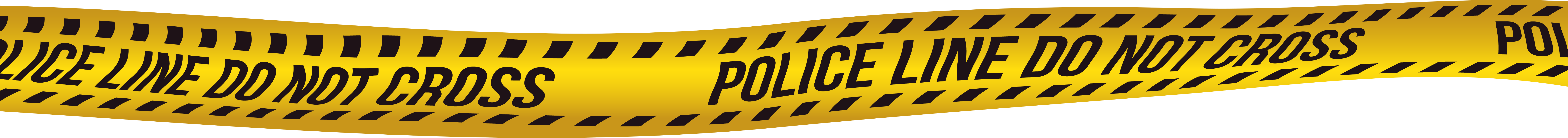 Cross clip line. Police do not png