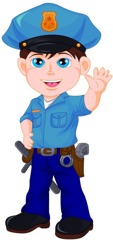 Police clipart. Surprising ideas policeman strong image black and white stock