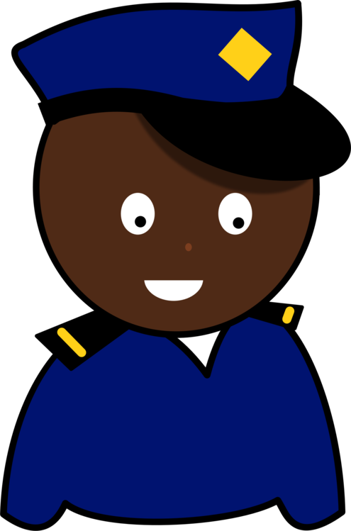 Policeman clipart authority. Police officer drawing uniform