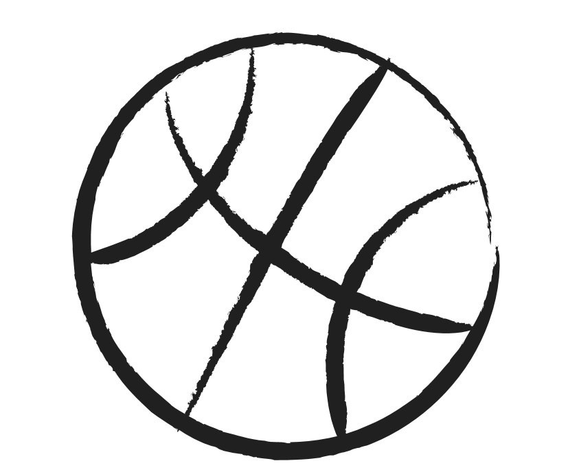 Politics clipart black and white. Lovely of half basketball