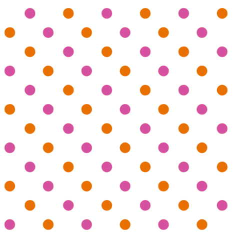 pink flower dots png