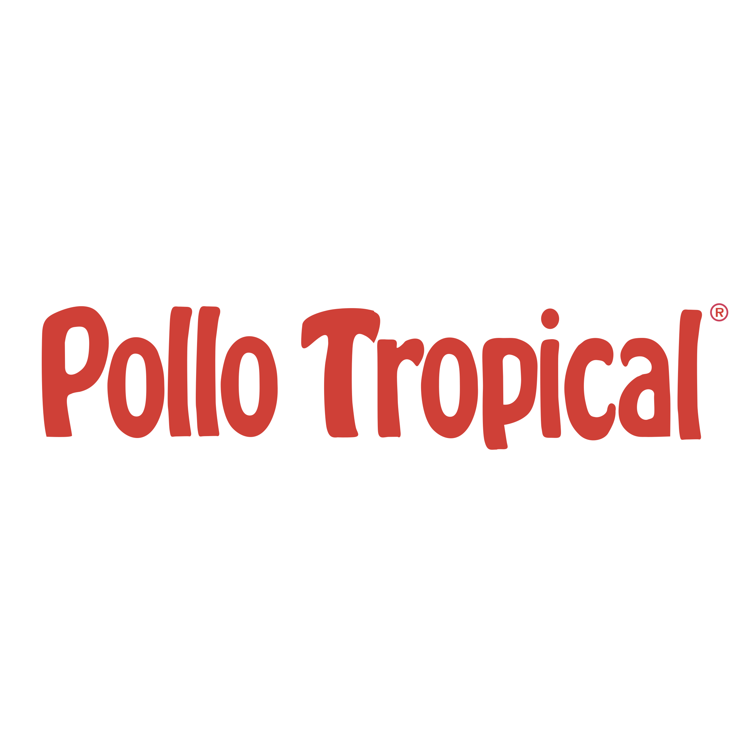 Transparent svg vector freebie. Pollo tropical logo png image library