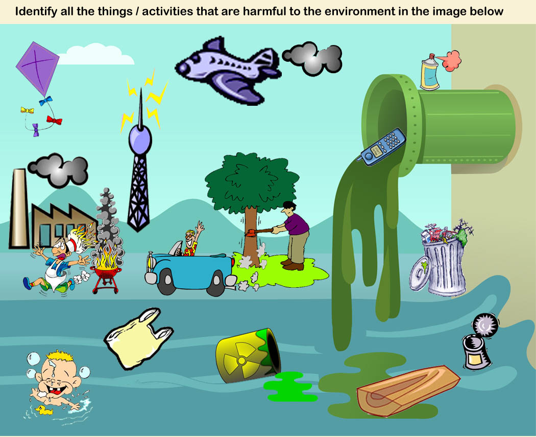 Pollution clipart drawing. Water pencil and in