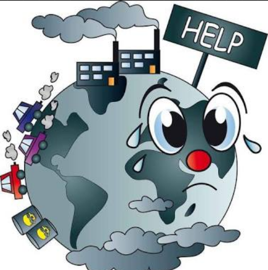 What are the causes. Pollution clipart two cause vector library library