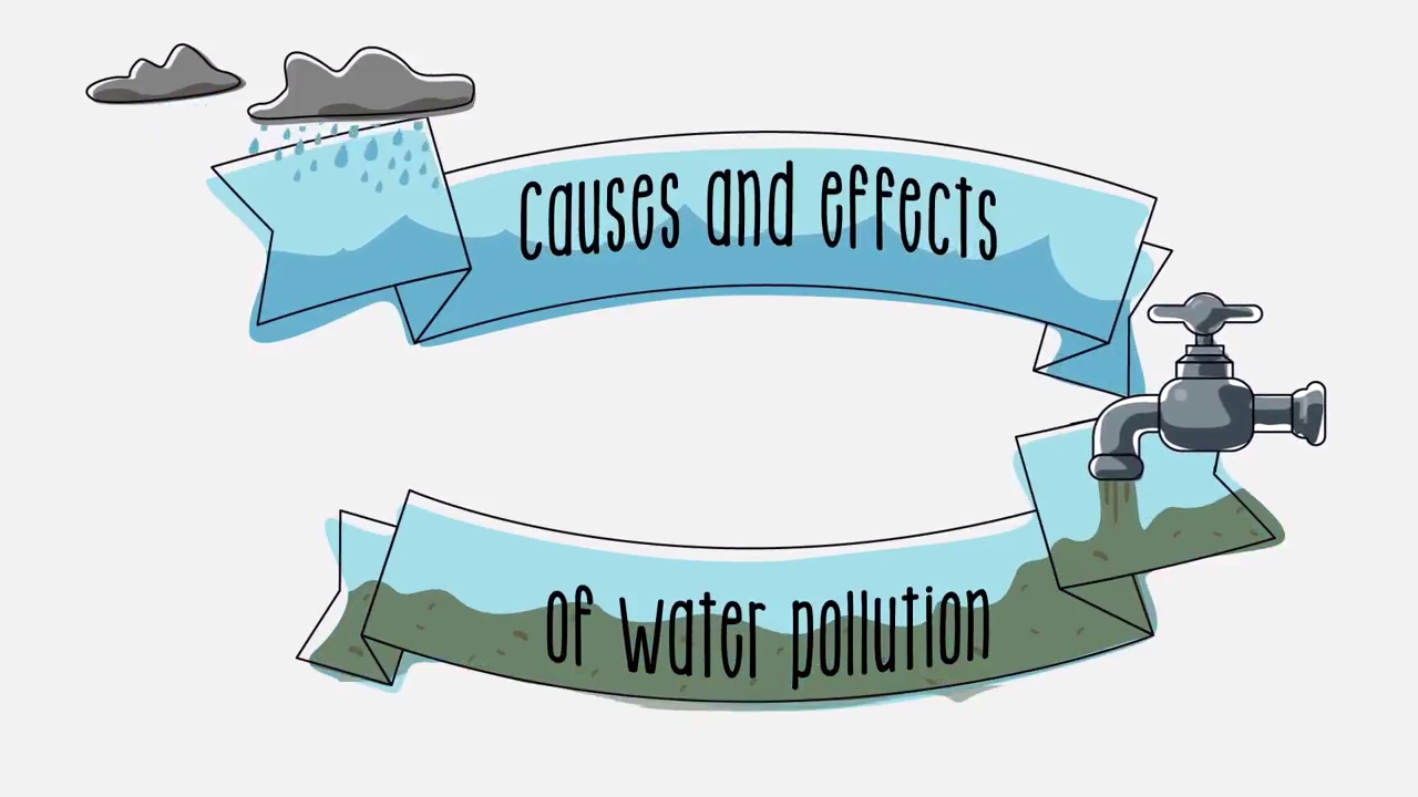 Causes and effects of. Pollution clipart two cause banner download