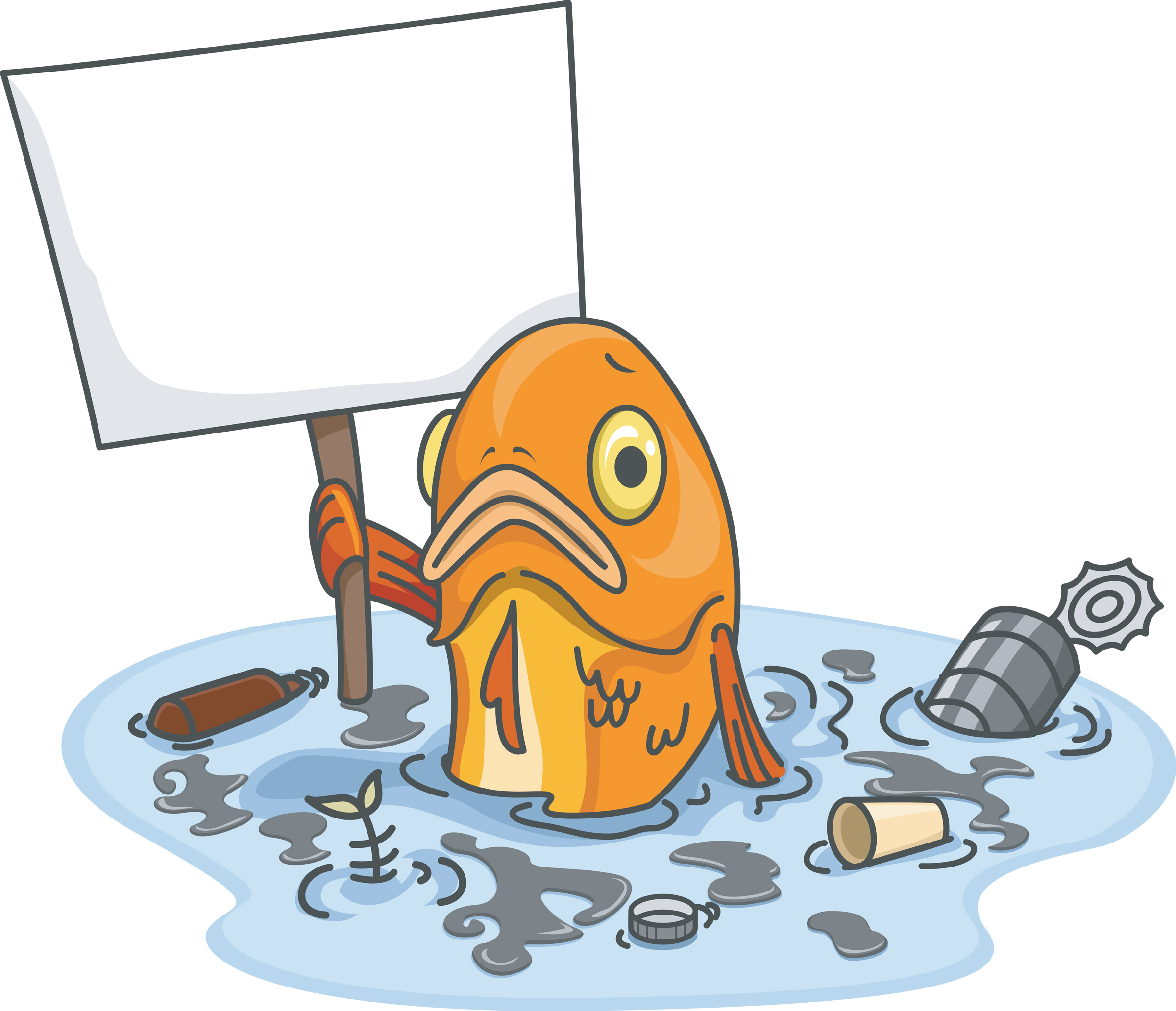 Pollution clipart two cause. Water study material for