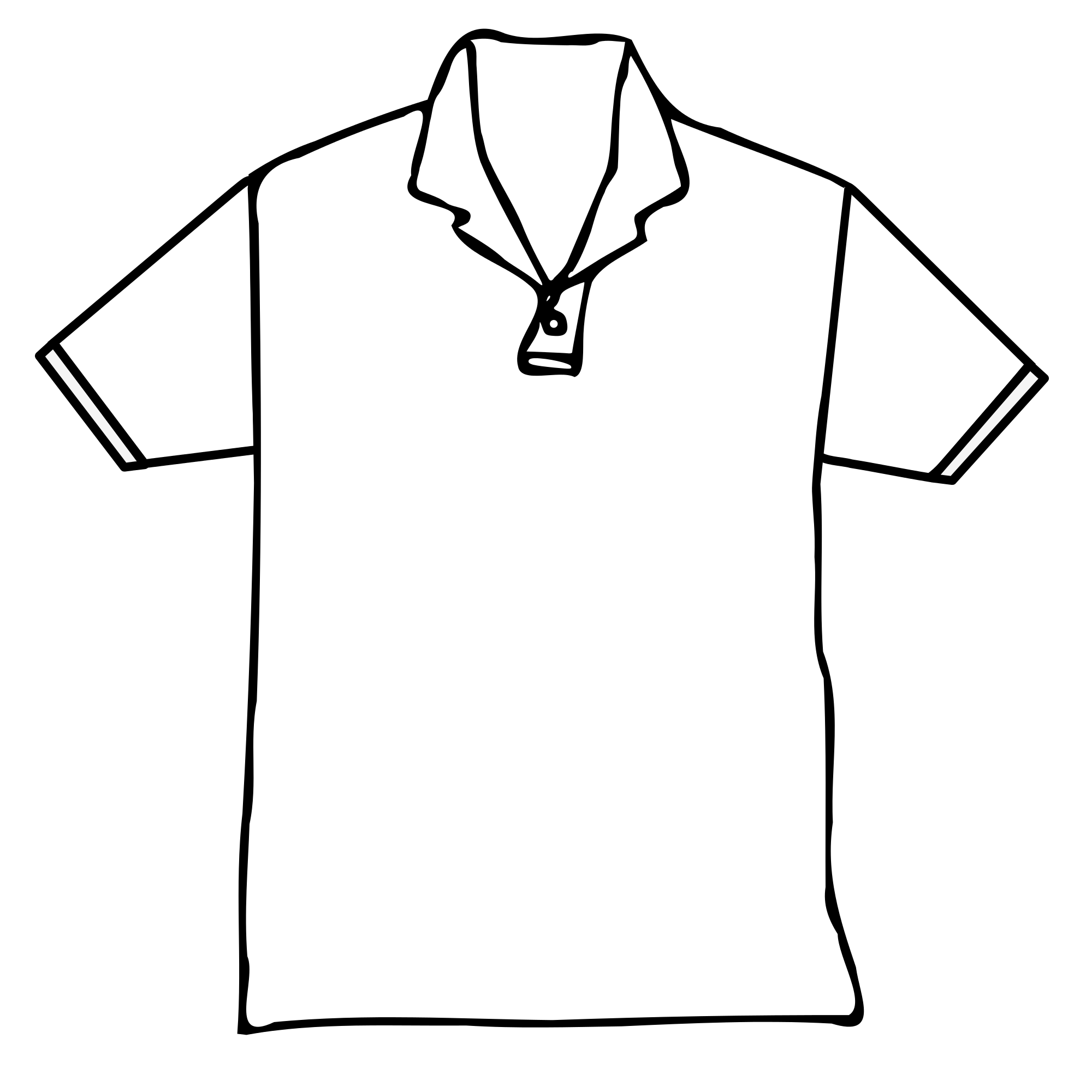 Polo drawing simple. Collection of high