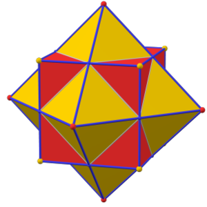 Polygons drawing chicken. Dual polyhedron wikipedia