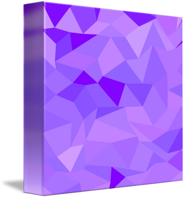 Polygons drawing iceberg. Icebergs purple abstract low
