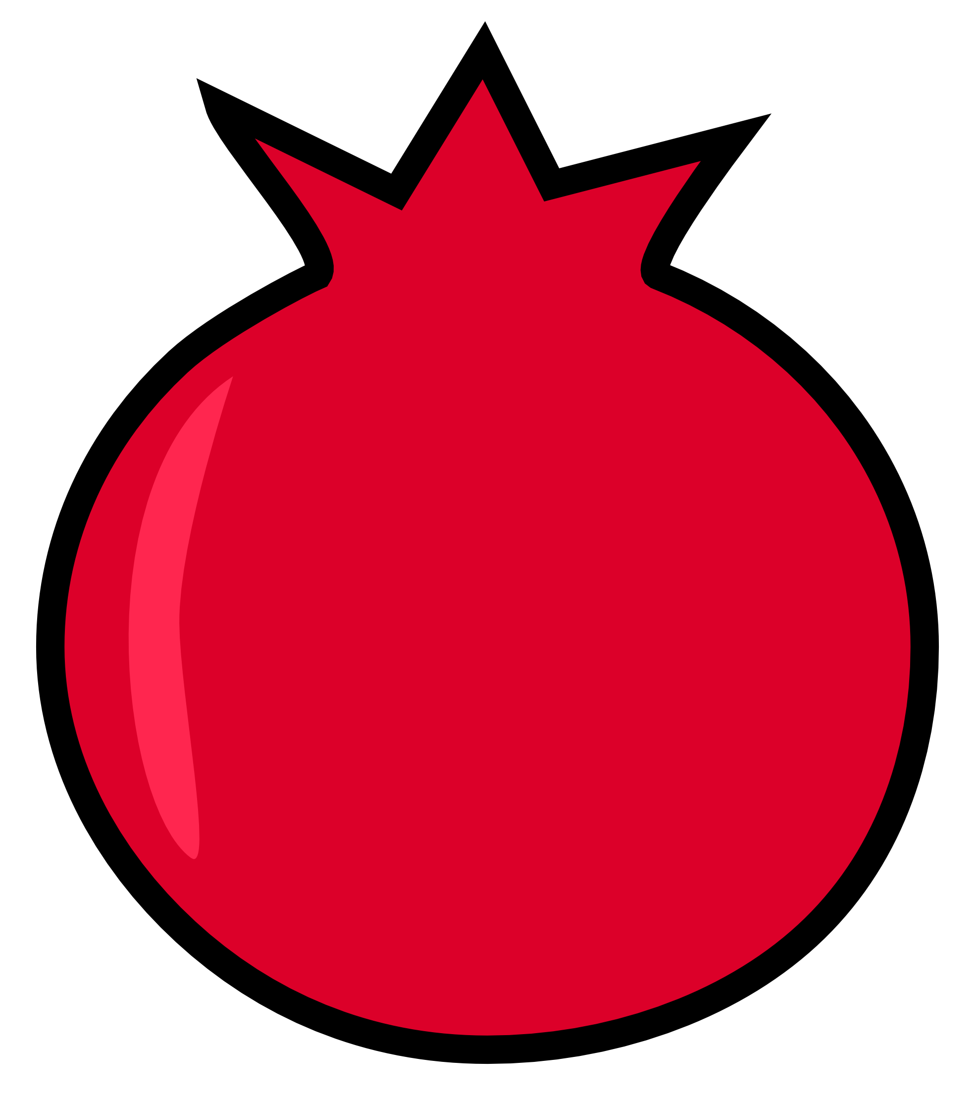 Pomegranate png drawing. Free download images icons