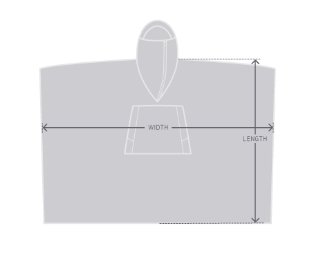 Poncho drawing rectangle. Outlier experiment ultra approximate