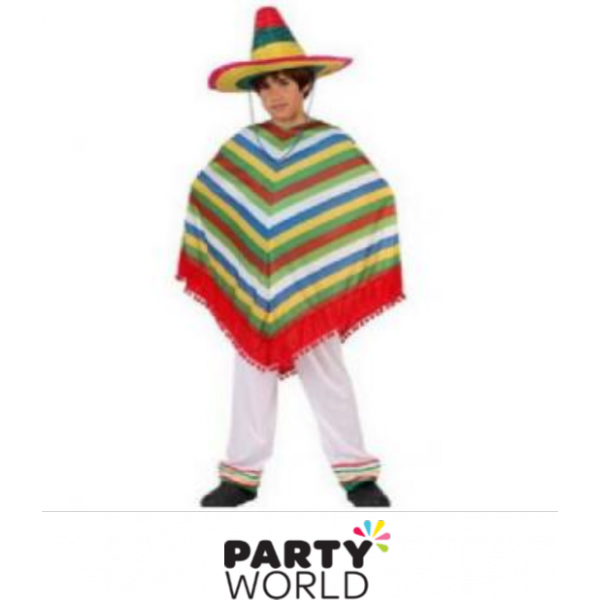 Poncho mexican png. Kids