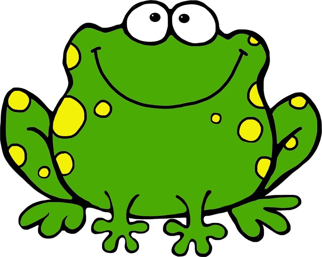 Frogs toad cute borders. Crown clipart frog clip freeuse download