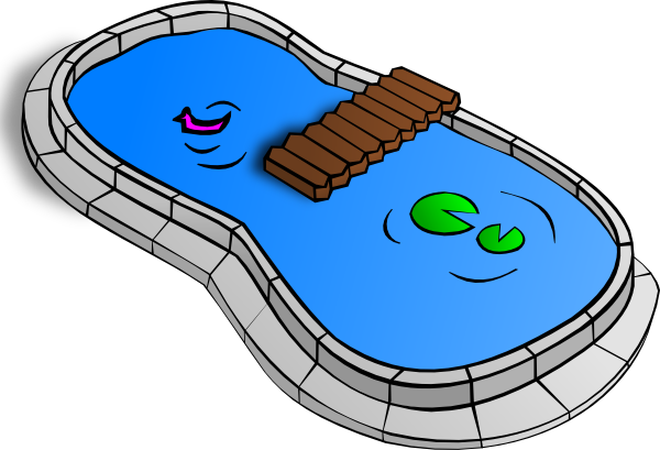 Pond vector animated. Clip art at clker