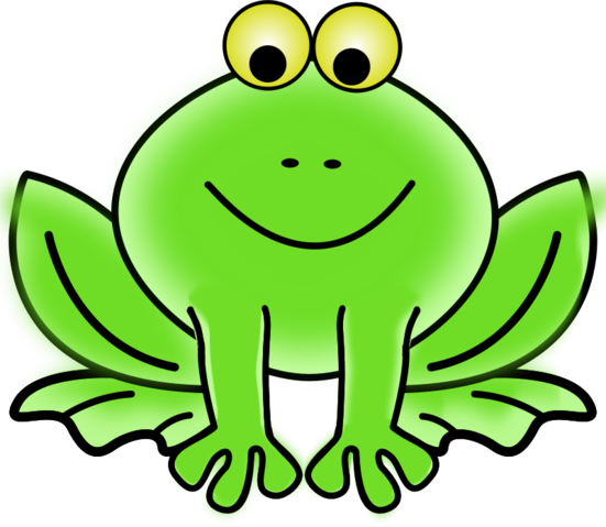 Pond vector cartoon frog. Free psd files vectors