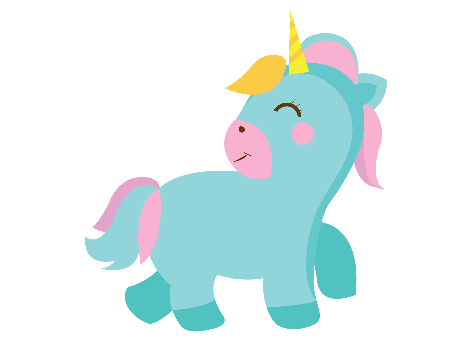 Pony clipart girly. Baby unicorn at getdrawings