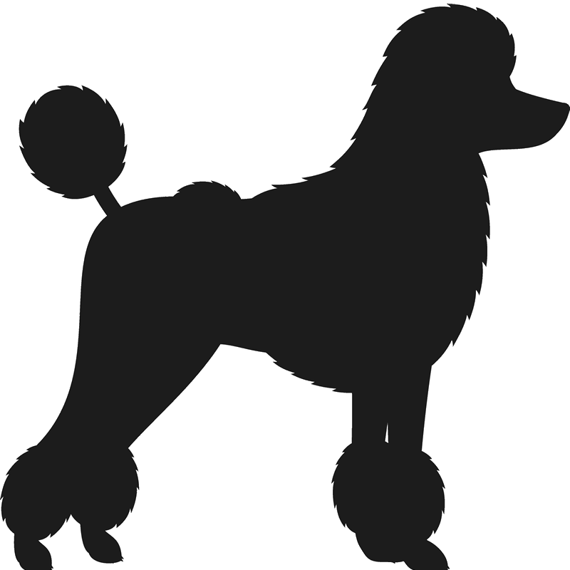 Poodle clip french. Toy silhouette at getdrawings