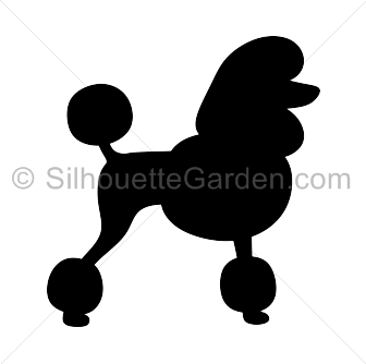 Silhouette art download free. Poodle clip cut svg freeuse