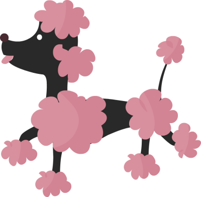 Poodle clip utility. Free cliparts download art