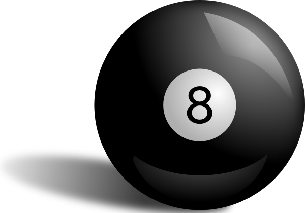 Pool 8 ball in rack png. Clip art at clker