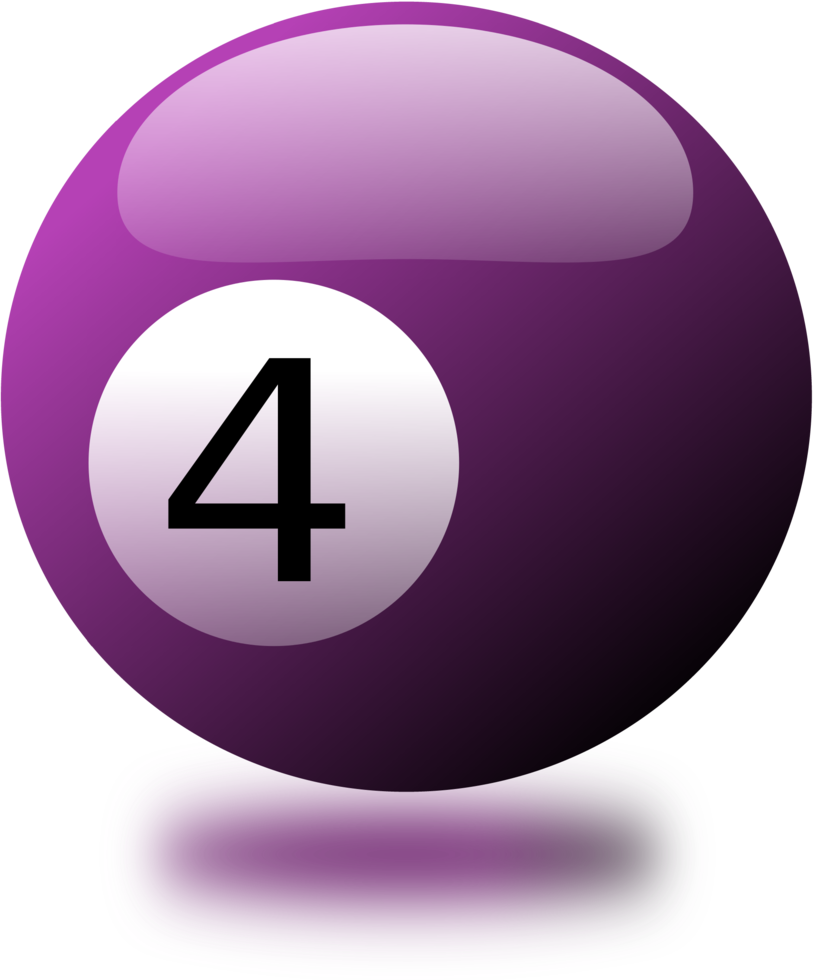 Billiard balls and eps. Pool ball number 5 png banner black and white stock