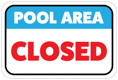 Pool clip closed. City during hydrofest
