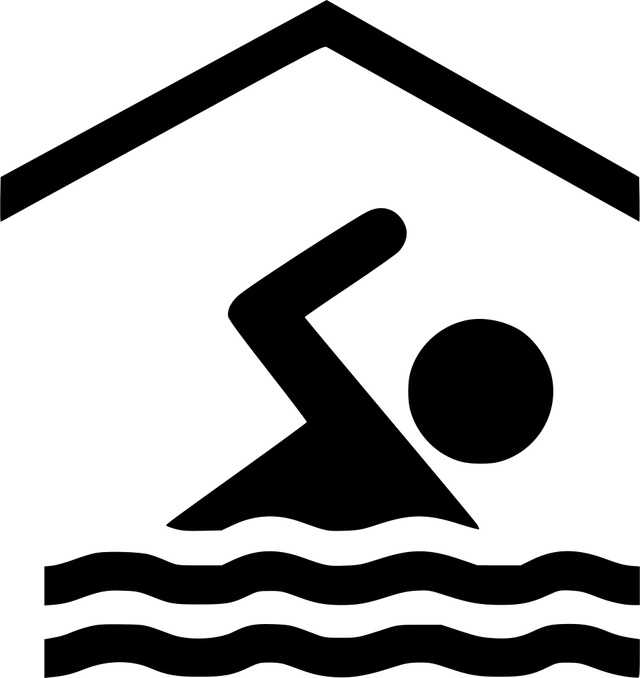 Pool clip indoor. Svg png icon free