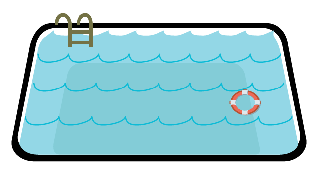 Pool clip part. Swimming clipart at getdrawings