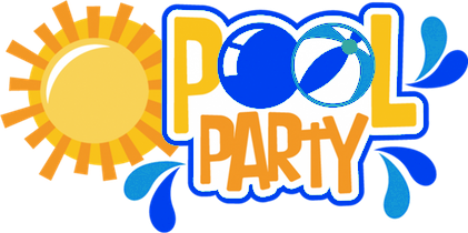 Pool clip party. Clipart at getdrawings com