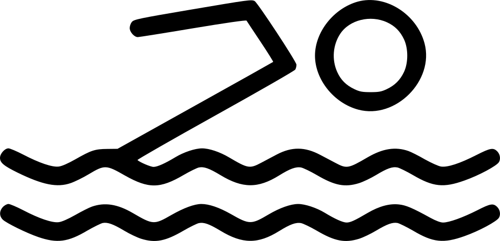Pool clip water activity. Swim swimming svg png