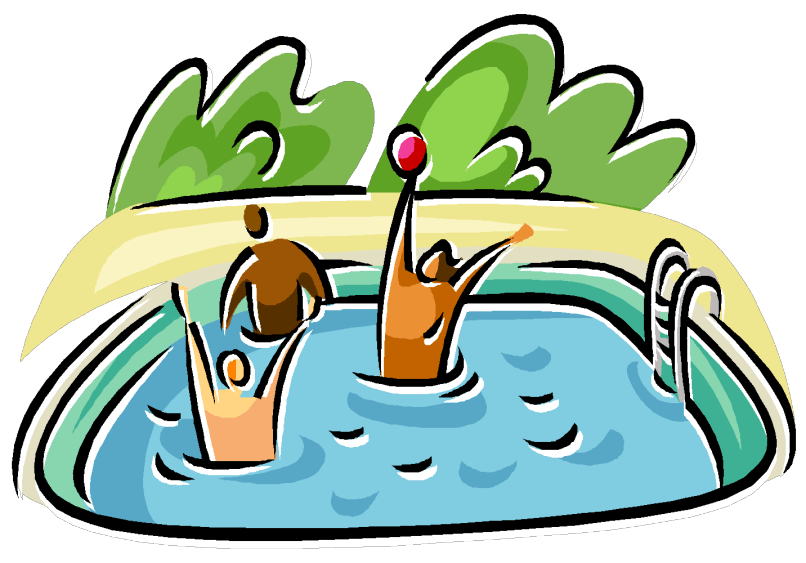 Pool clipart kiddie pool. Swimming party cartoon images