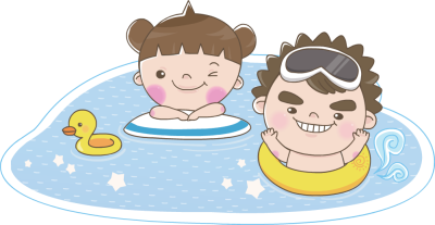 Swimming clipart family. Free pool cliparts download