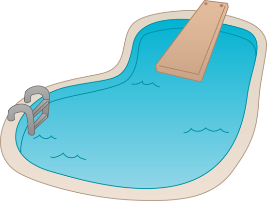 cover clip tube frame pool