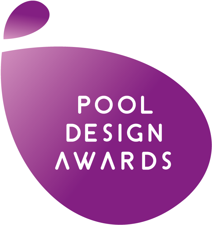 Swimming transparent cantilevered. Pool design awards middle