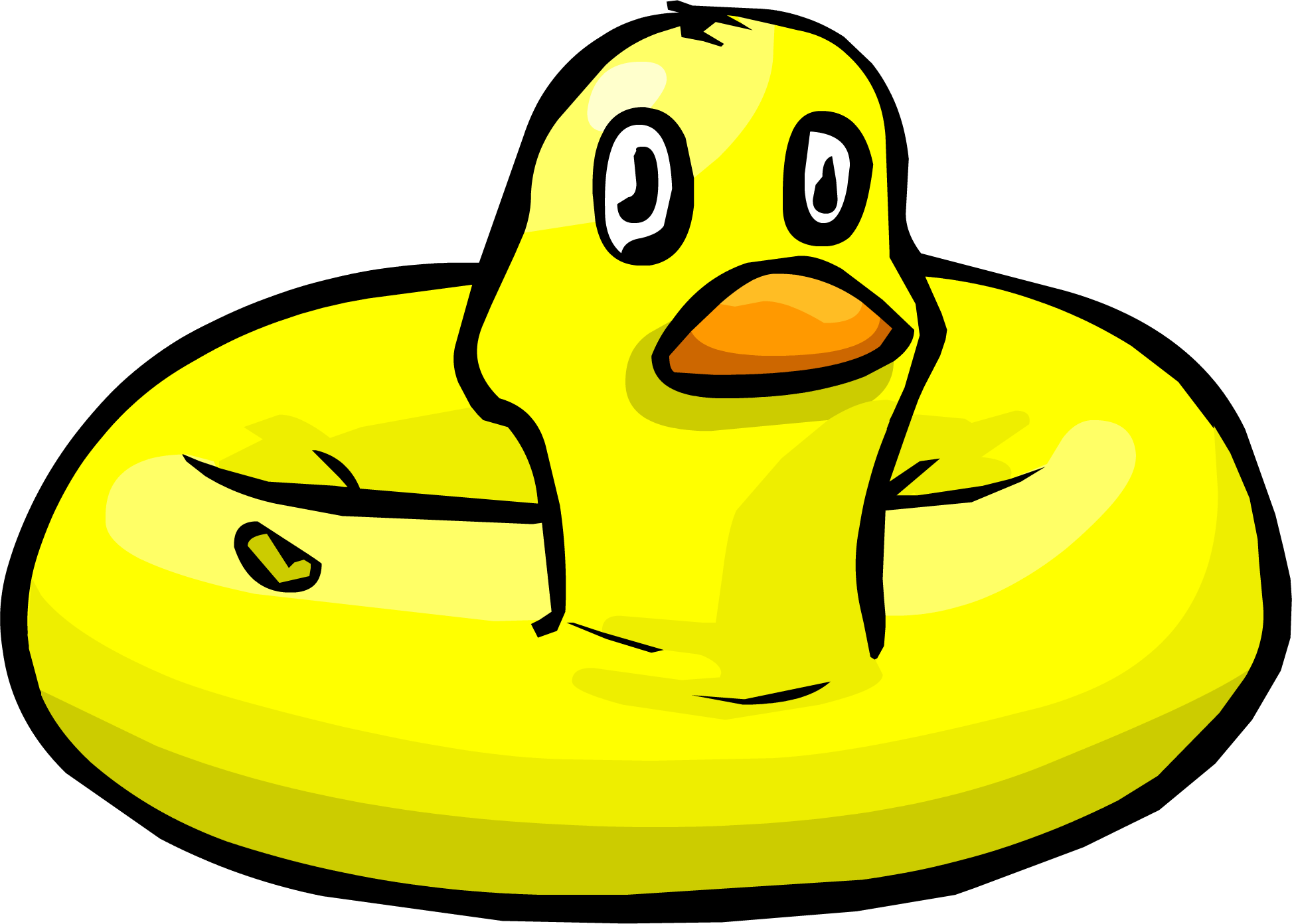 Pool duck png. Inflatable club penguin wiki