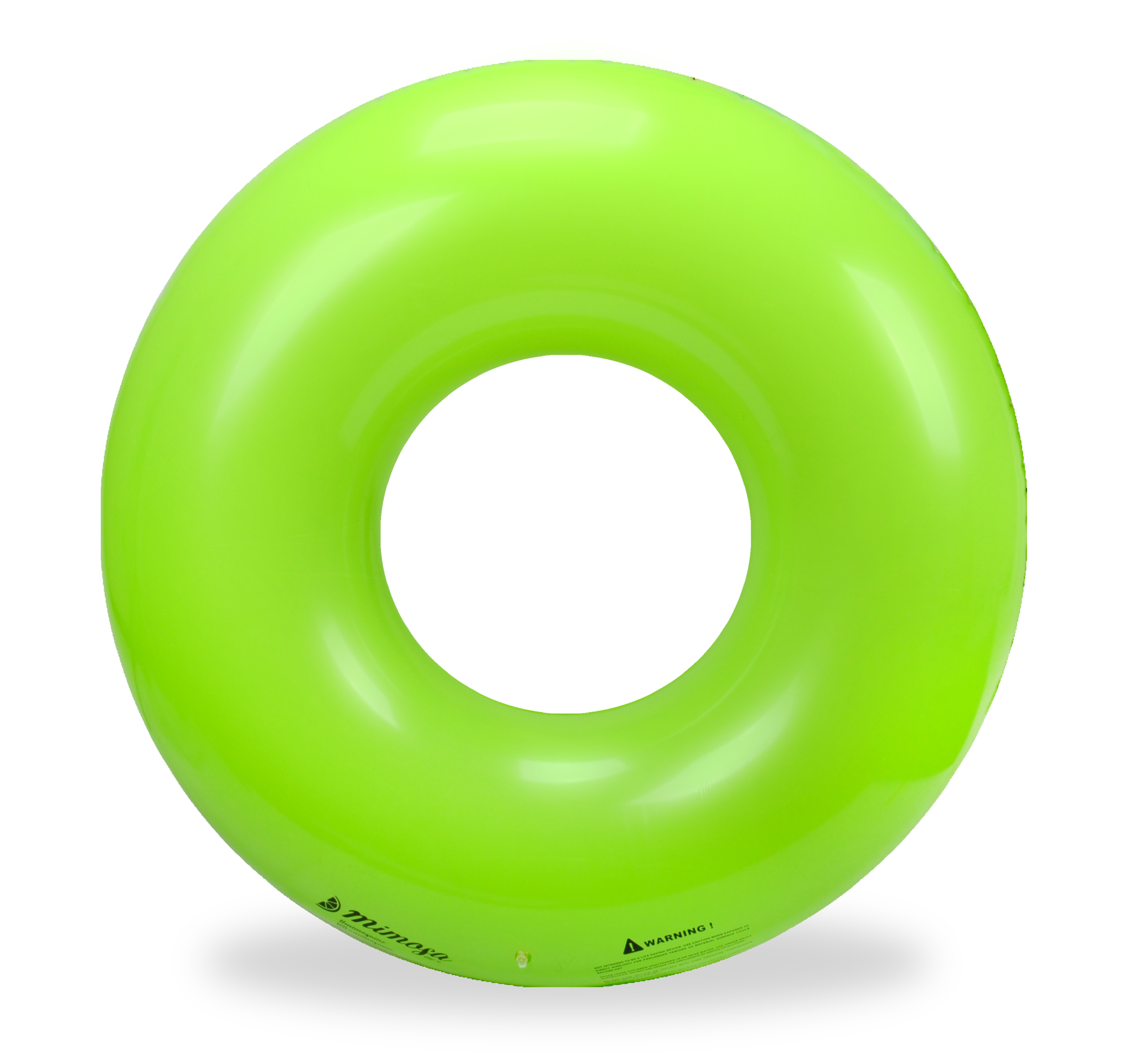 Pool float png. Bright green round tube