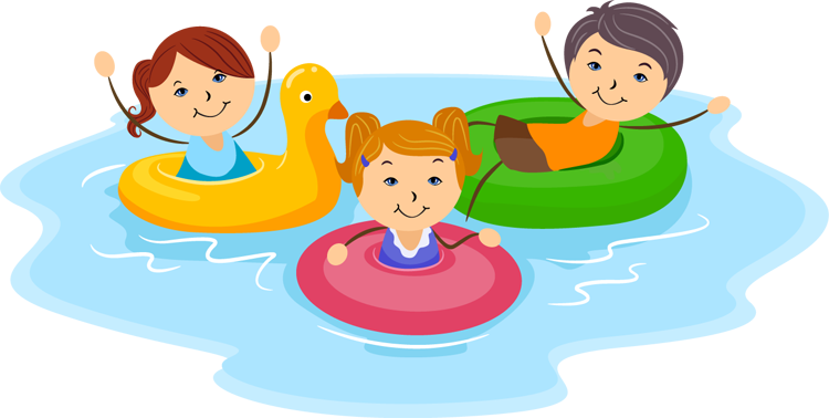 Pool fun clipart png. Cartoon pictures of kids