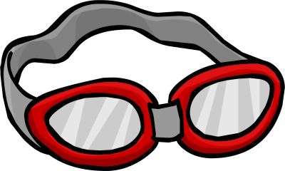 Pool goggles png. Swim dlpng club penguin