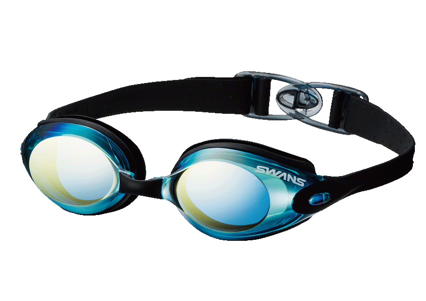 Pool goggles png. Swans mirror lenses fitness