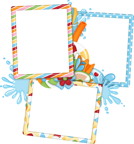 Pool party frame png. Jss poolparty fot
